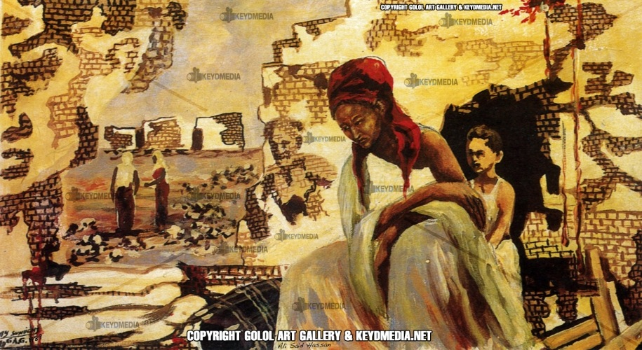 """Qabiilnimo Dawladeed"" – (State of clanism) - 1989"